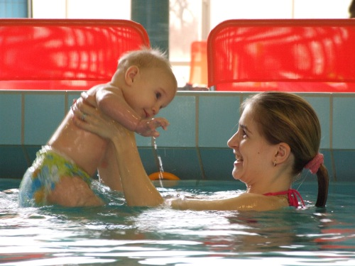 Discounted baby package in the Aqua-Palace