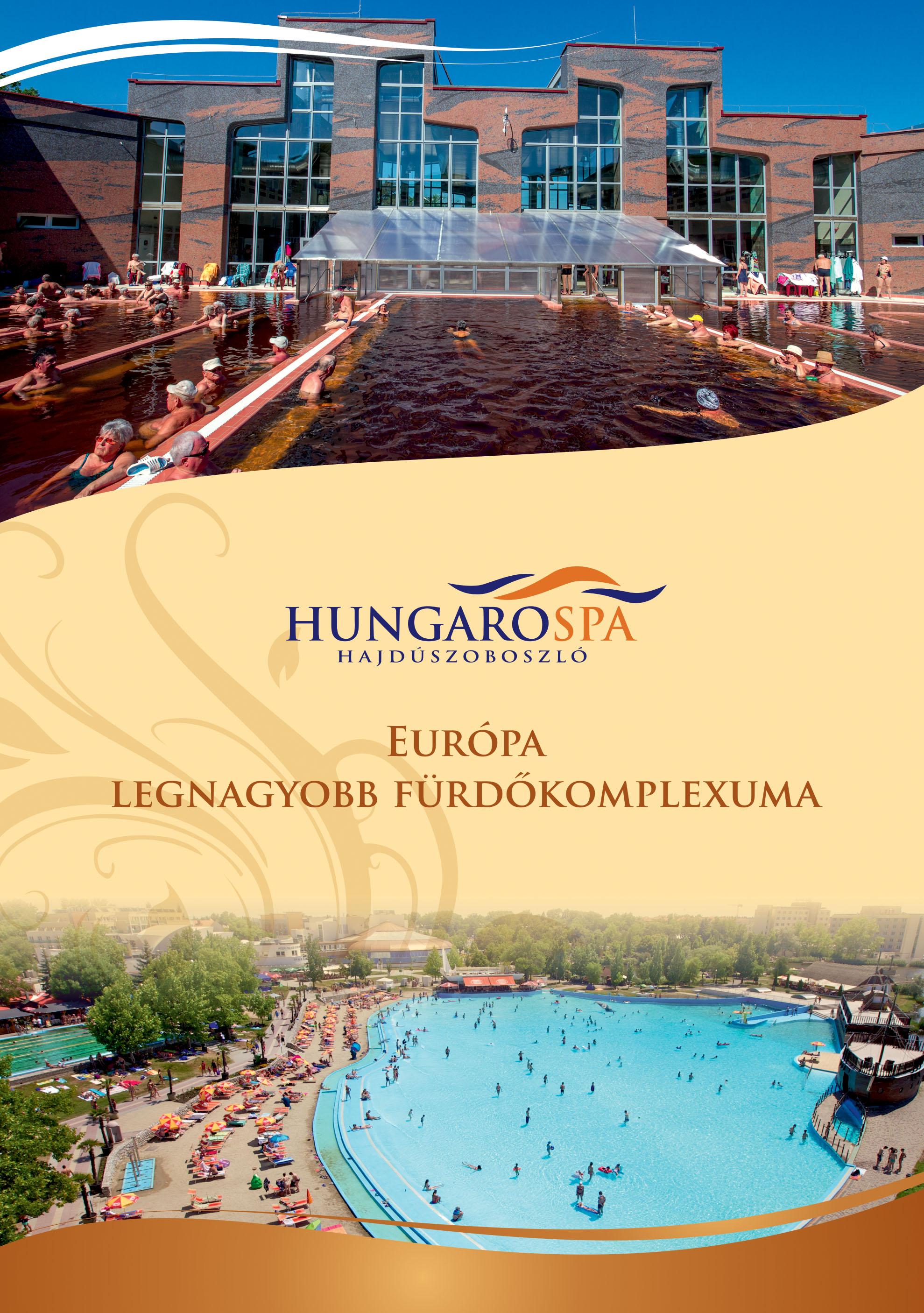 Hungarospa Hajdúszoboszló prospektus B5