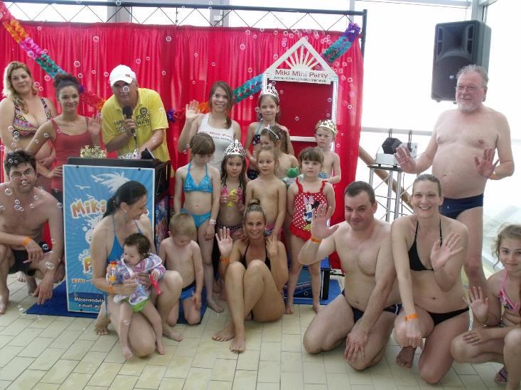 Napfényes és vidám volt a Gyermeknap a Hungarospa fürdőkomplexumában!