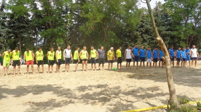 Izgalmas strandfoci bajnokság volt a Hungarospa Sportcentrumában!
