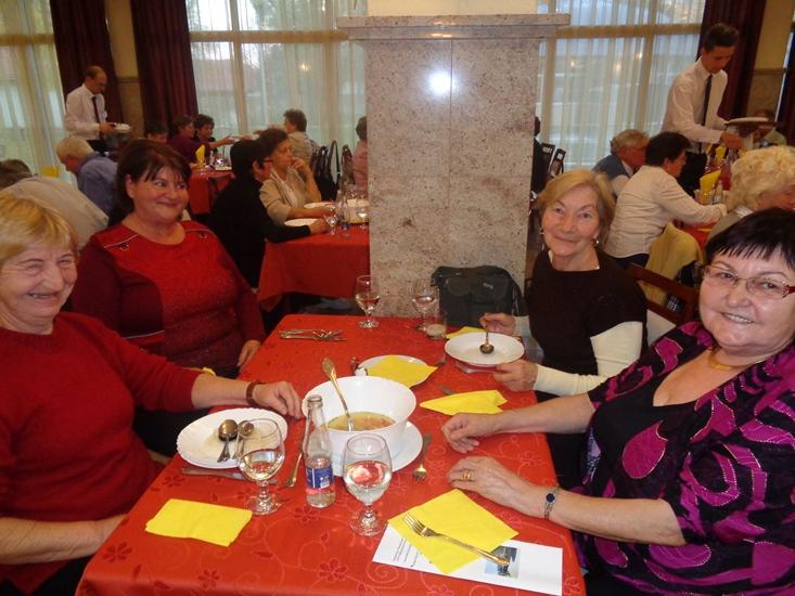 A Hungarospa egykori munkatársai találkozón vettek részt a Thermal Hotelben