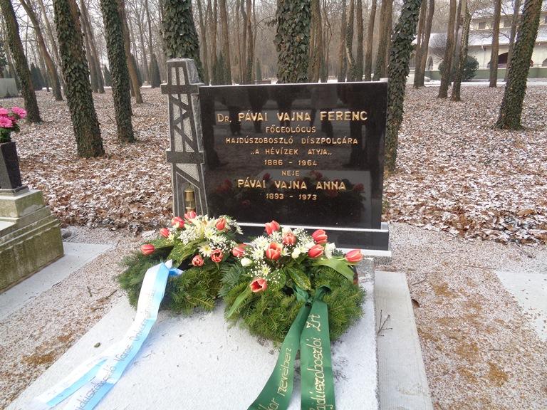 Dr. Pávai Vajna Ferenc halálának 53. évfordulójára emlékeztünk