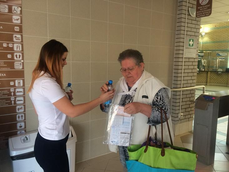 Gyógyvíz kincsünket ünnepeltük a Víz világnapján a Hungarospa fürdőkomplexumában