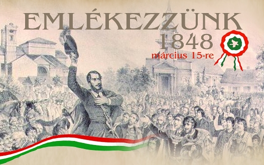 Az 1848-49-es Forradalom és Szabadságharcra emlékezünk az Aqua-Palace élményfürdőben