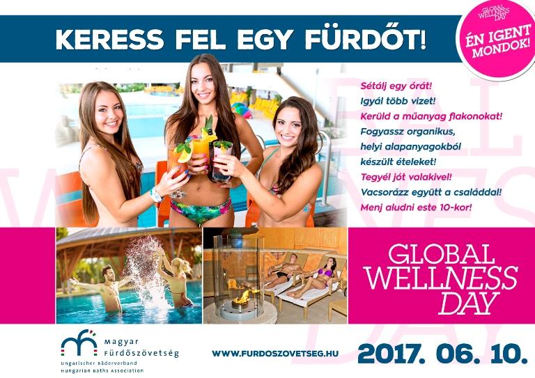 Még egy ok az ünneplésre! Wellness Világnapi kényeztetés a Hungarospa fürdőjében!