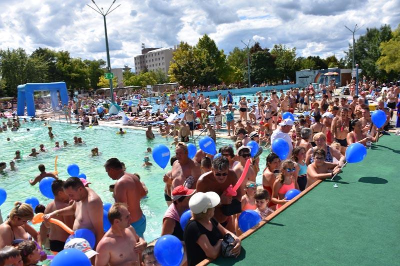 Egy héten át ünnepelt a 90 éves Hungarospa fürdőkomplexum!