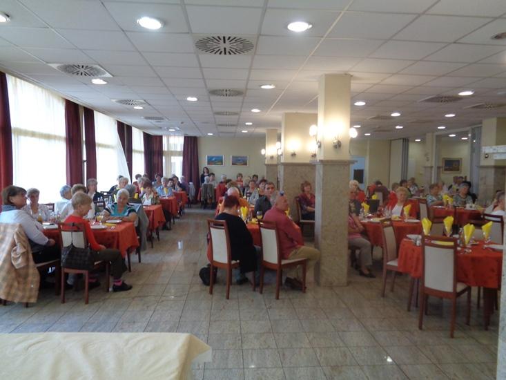 Újra találkoztak egymással a Hungarospa fürdőkomplexum nyugdíjas dolgozói