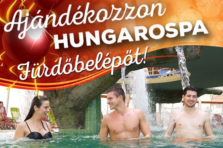 Ajándékozzon szeretteinek élményeket! Vásároljon Hungarospa fürdőbelépőt!