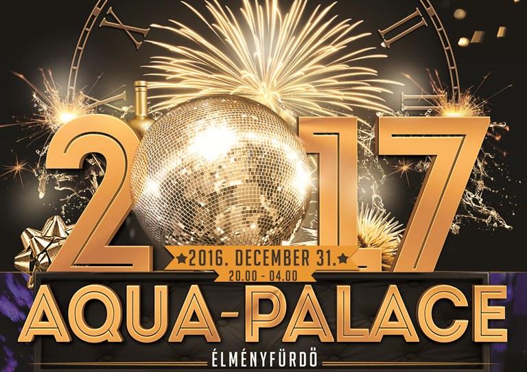 Csobbanjon át szilveszterkor az újévbe az Aqua-Palace élményfürdőben!