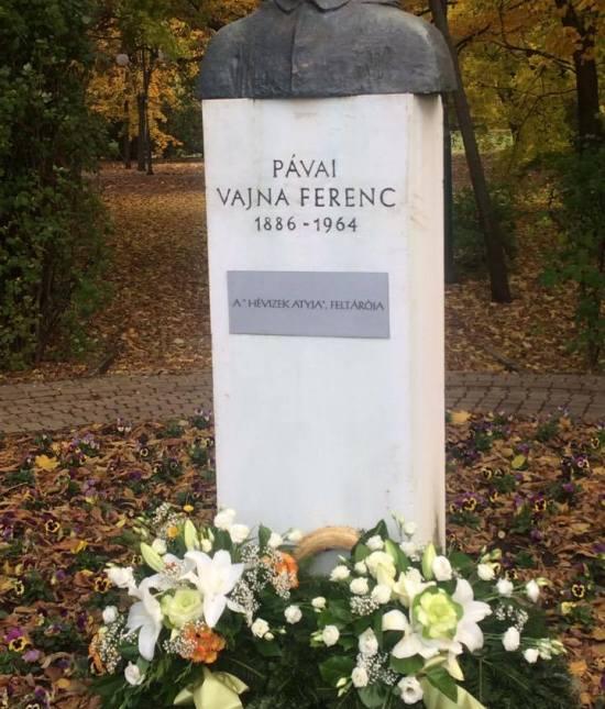 A gyógyvíz feltörésének 91. évfordulóján Pávai Vajna Ferencre emlékeztünk