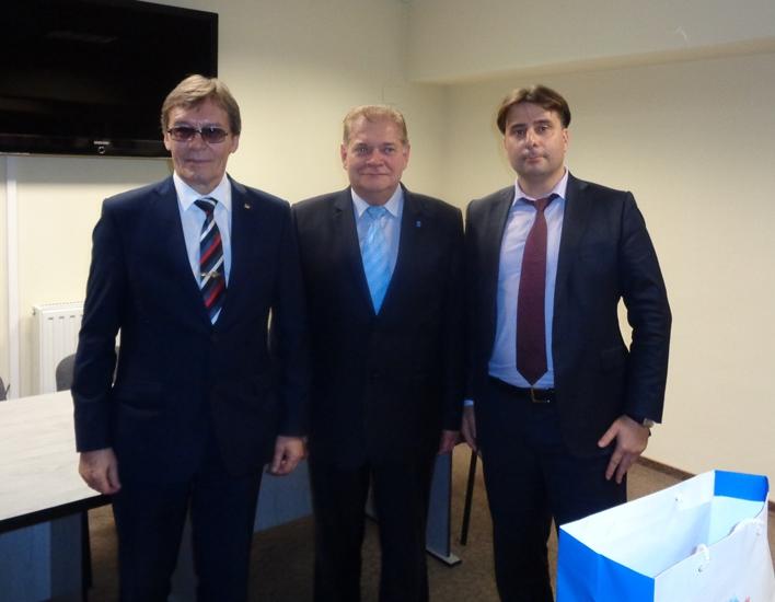 Orosz delegáció látogatott el a Hungarospa fürdőkomplexumába