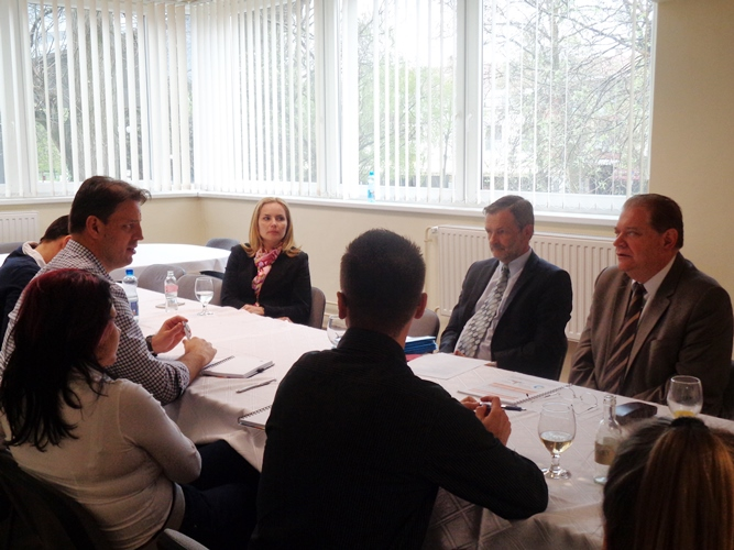 A Magyar Turisztikai Ügynökség vezetői látogattak el a Hungarospa-hoz